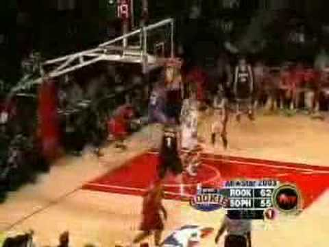 nba - 2003 rookie game highlights