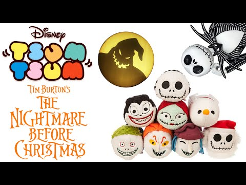 Disney Tsum Tsum NBX Nightmare Before Christmas Collection Toy Review