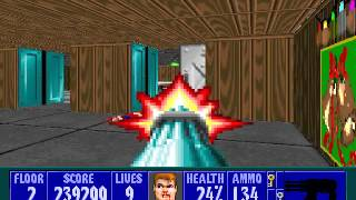 Wolfenstein 3D Christmas Special - Level 2