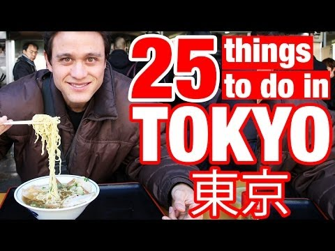 Thumbnail: 25 Things To Do in Tokyo, Japan (Watch This Before You Go)