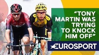 Wiggins on THAT Clash Between Rowe and Martin   The Bradley Wiggins Show   Eurosport