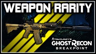 Ghost Recon Breakpoint | ELITE & Signature Weapons