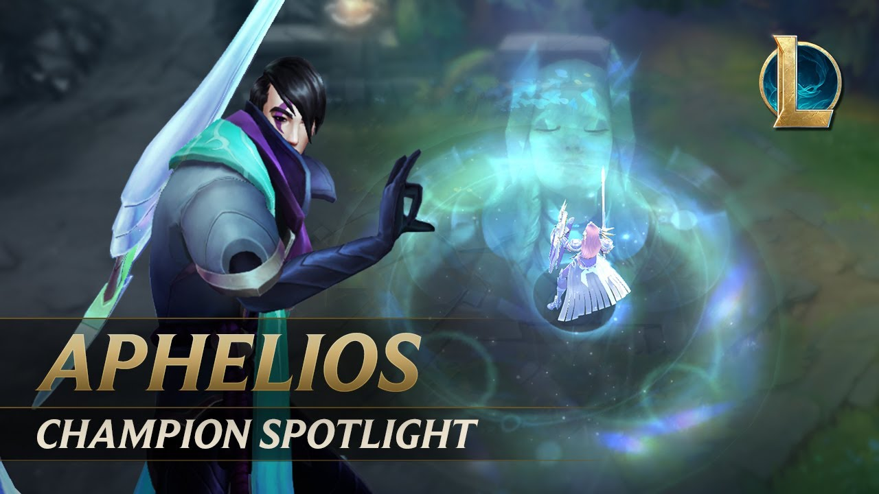 Aphelios Champion Spotlight | Gameplay - League of Legends thumbnail