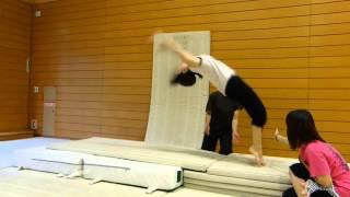 AKB1期、加弥乃のアクション練習映像です。アクションができる女優とし...