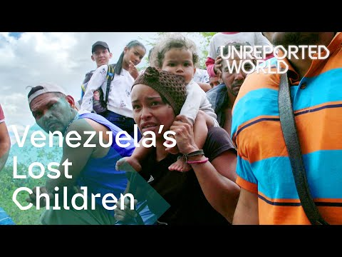 Venezuelas children flee the countrys worsening crisis  | Unreported World