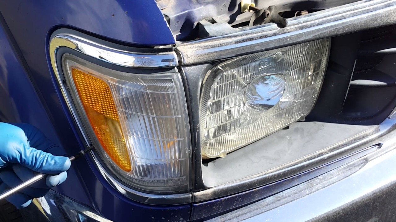 how to replace sealed beam headlights [ 1280 x 720 Pixel ]