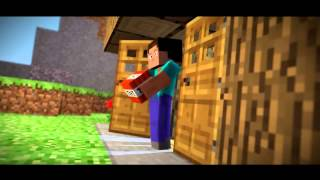 Parody Movie Steve. never Minecraft animation in Blender Funny Film