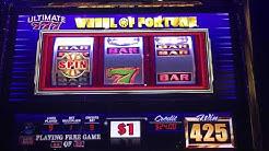 Free Bonus Games on Wheel Of Fortune! Re-triggers got me 80 free games!