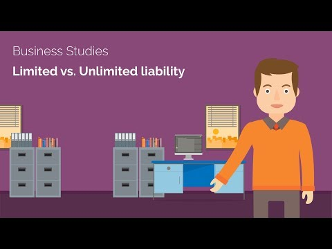 Limited & Unlimited Liability - Business A-level Revision Video - Study Rocket