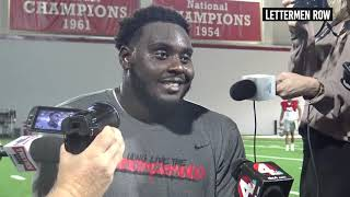 Isaiah Prince: Ohio State offensive tackle talks about TCU performance - Sept 18, 2018