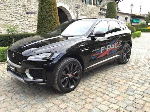 JAGUAR F-PACE S 2016 3.0 V6 TD First Edition AWD Review & Test in GENEVA