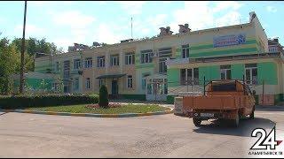 К сентябрю все будет готово: в альметьевском детском саду «Снегурочка» идет ремонт