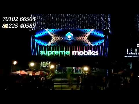 Building Elevation Facade Exterior Outdoor Advertising LED Lighting Decortion Shop Showroom Hotel