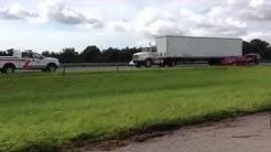 Large car accident I75 Sarasota Florida