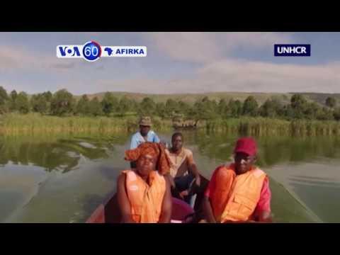 VOA60 AFIRKA: A Uganda Wasu Manoma Sun Je Kamun Kifi Don Taimakawa 'Yan Gudun Hijirar  Congo