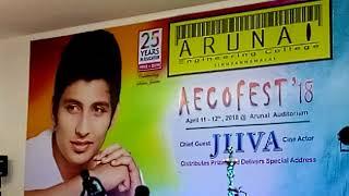 Solo dance performance   Arunai Enginnering College Aecofest2018