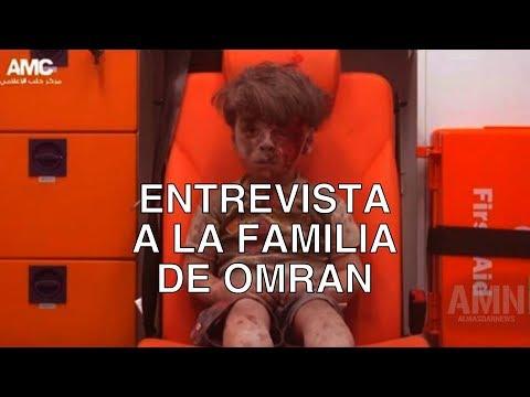 """Entrevistan a la familia de Omran Daqneesh, """"el niño de la ambulancia"""" de Alepo"""