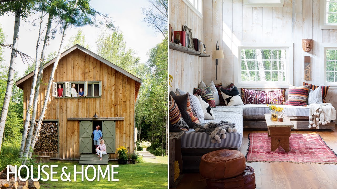 A Must-See Barn-Style Cottage