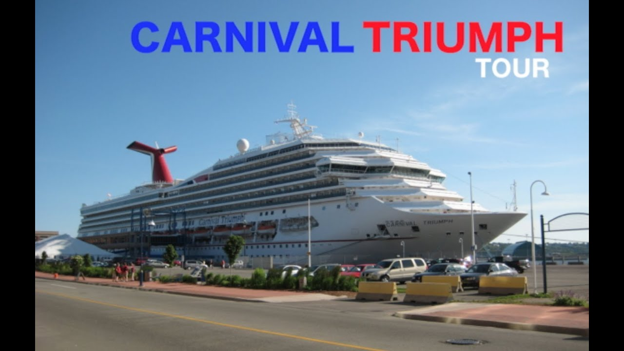 Carnival Triumph Tour Youtube