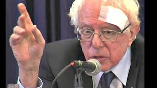 Bernie Sanders Receives Stitches After Cutting Head On Shower Door