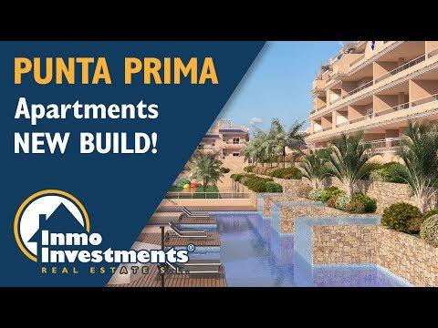 New build luxury apartments in Punta Prima, Costa Blanca, Spain