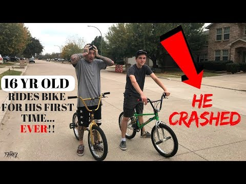How To Ride A Bike *BMX FOR BEGINNERS*