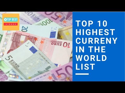 Top 10 Highest Currency In The World List | TopBestVideosTamil