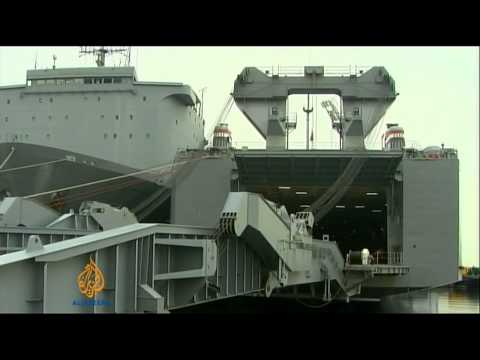 US unveils ship to destroy Syria's chemical weapons