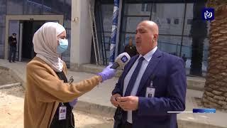 وزيرا الأشغال والصحة يتفقدان توسعة مستشفى البشير -  5-4-2020