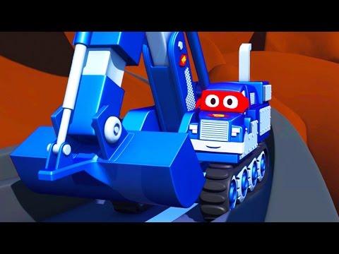 Carl o Super Caminhão e Salvando bebês carrinhos na Cidade do Carro   Desenho animado para crianças
