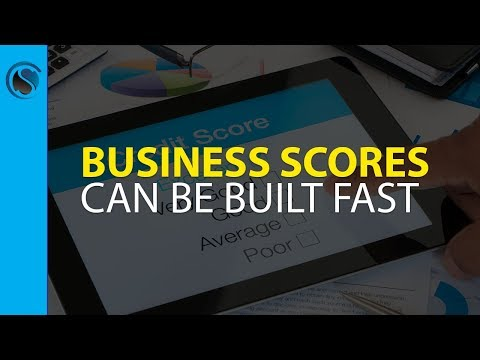 Business Scores can be Built Fast