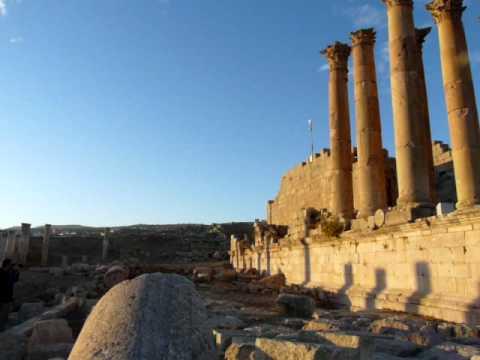 Jordania : Templo de Artemisa Jerash