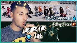 Gambar cover FIRST TIME EVER REACTION TO SEVENTEEN! #2 (Don't wanna cry, Getting Closer) | I AM DONE!