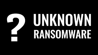 Windows Defender meets unknown ransomware