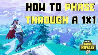 *Pyramid Glitch* How To Phase Through Someones 1x1 | Fortnite Tips & Tricks!