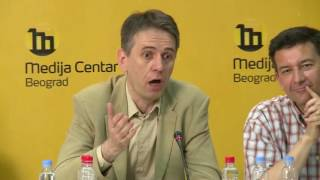 Incident posle pitanja novinara Studija B Saši Raduloviću