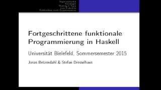 FFPiH - Vorlesung 1 - Grundlagen