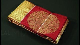 #1999 Unboxing Bridal Kanchipuram silk saree - to buy online at weaver's price