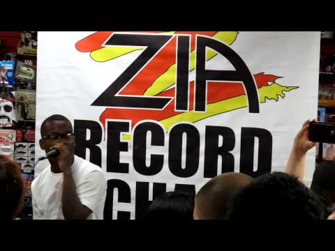 MURS and Fashawn performing at Zia Records in Tempe AZ