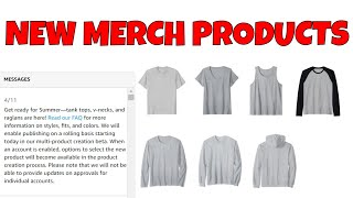 Amazon Merch Rolls Out Tank Tops, V-Necks & Raglans... For Real This Time No April Fools Joke