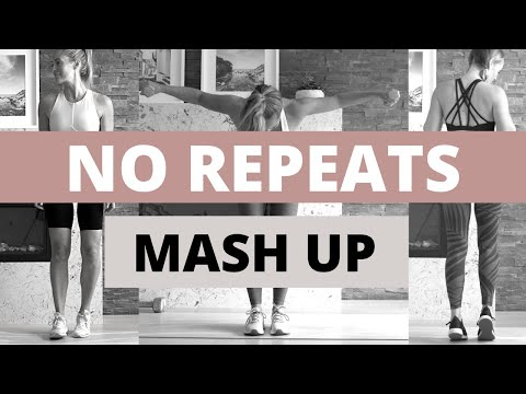 No Repeats HIIT workout // Total Body MASH UP