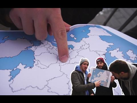 Ukáž SLOVENSKO na slepej mape! | Sociálna turistika