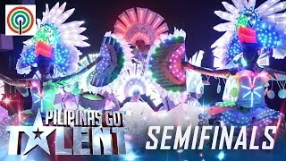 Pilipinas Got Talent Season 5 Live Semifinals: Bailes de Luces - Light Dancers