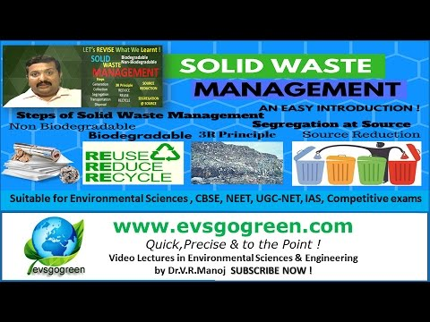solid waste management - an easy introduction