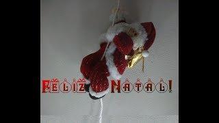 Feliz Natal!  Meu cartão animado e,  luzinhas...