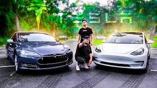 CAP#1 TESLA MODEL S & TESLA MODEL 3 ‹ EduKof ›