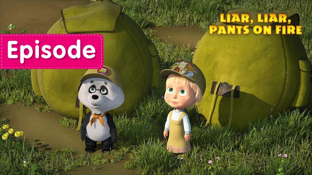 Masha and The Bear - Liar, liar, pants on fire! ???? (Episode 57)