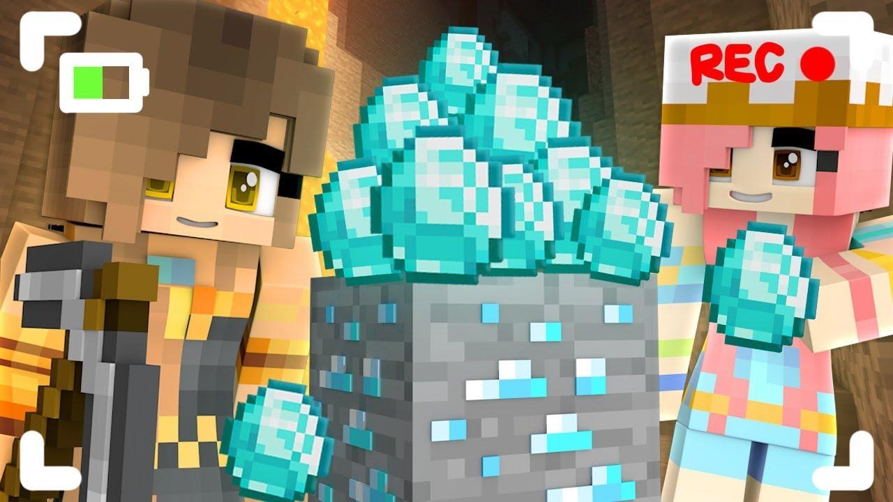 Wir haben DIAMONDS endlich in Minecraft gefunden! + video