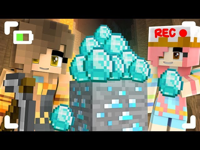 We finally found DIAMONDS in Minecraft!