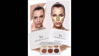 Lagure Minerals Powder Contour Kit Premium Bronzer and Contour Palette for Flawless Highlighting a